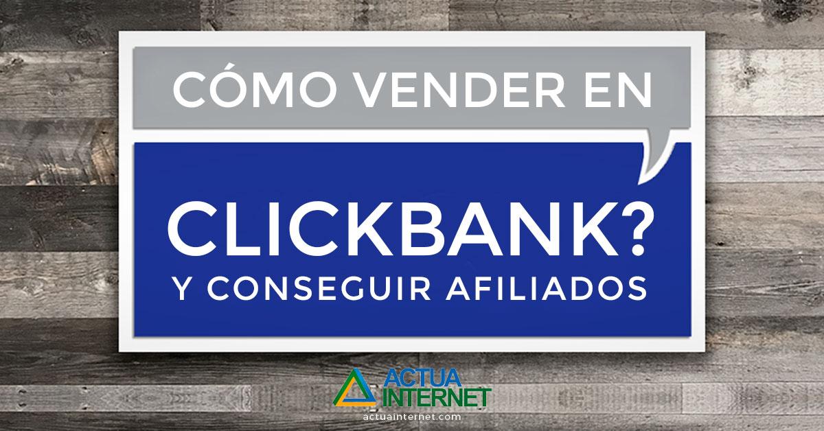 como vender en clickbank